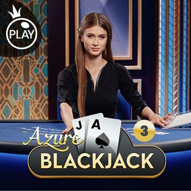 Pragmatic Play Live Azure Blackjack