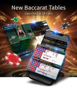SA Gaming's New SA Euro Baccarat Tables