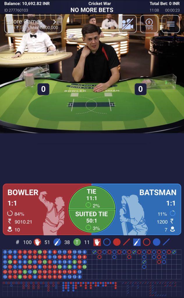 Cricket War reality